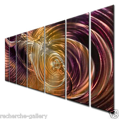 Abstract Metal Wall Art by Artist Ash Carl Modern Home Decor Wall Sculpture