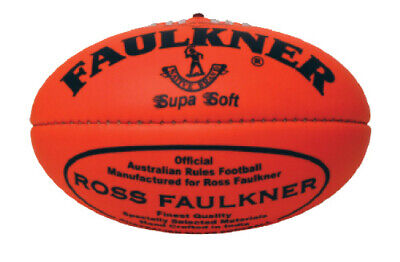 Faulkner Super Soft Football - Size 2 - 12 Inches - Multiple Colours Available
