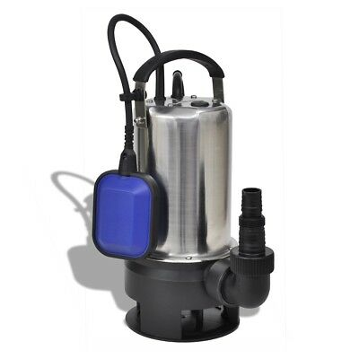 Pompe submersible pour eaux sales 1100 W 16500 L/h Pompe d'immersion électrique