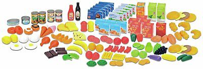 Chad Valley 104 Piece Play Food Set - 3+ Years