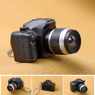 Hot Sale Camera With Flash Light Lucky Cute Charm LED Luminous Keychains Gift