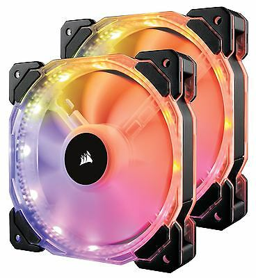 Corsair CO-9050069-WW - HD140 RGB LED Dual Fans With Controller
