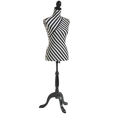 Beautify Female Dressmaking Tailor Dummy Bust Stand Fashion Mannequin Size 8/10