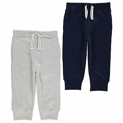 Crafted Kids Sweat Pants Trousers Jogging Bottoms Boys Sports Training