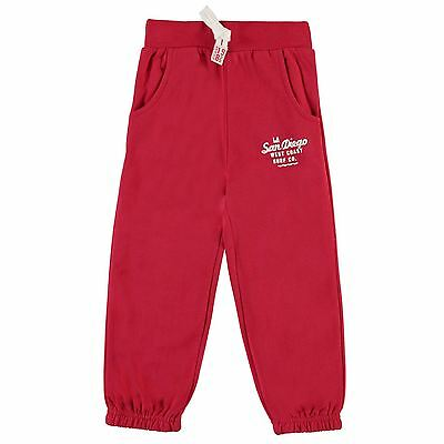 Crafted Kids Joggers Sweat Pants Trousers Jogging Bottoms Boys Cotton