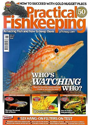 Practical Fishkeeping Magazine June 2017 Issue 7 Plecs Neons PFK Tropical Fish