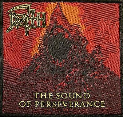 "DEATH AUFNÄHER / PATCH # 10 ""THE SOUND OF PERSEVERANCE"" - 10x10cm"