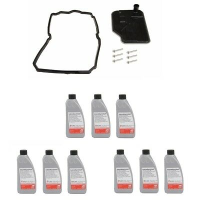 Mercedes 2005-2014 9 Liters Auto Trans Fluids & Filter Kit With 722.9xx 7-Speed