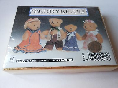 PLAYING CARDS TEDDYBEARS  in a sealed box