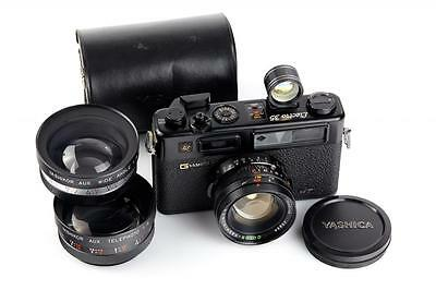 Yashica Electro 35 GT Black Outfit // 28770,1