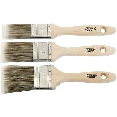 Draper 82509 'EXPERT' PAINT BRUSH 3PC SET