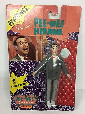 Sealed MATCHBOX Pee-Wee's Playhouse Pee-Wee Herman Toy Action Figure Doll