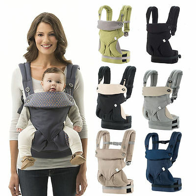 2017 Safety Baby Ergo Carrier Infant 360 Four Position Breathable Kids Backpack