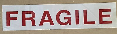 "Fragile Tape FRAGILE Graphics shipping Packaging Tape 55 yards 2"" Gloss Finish"