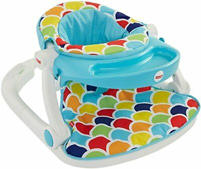 Fisher-Price Sit-Me-Up Floor Seat with Toy Tray New