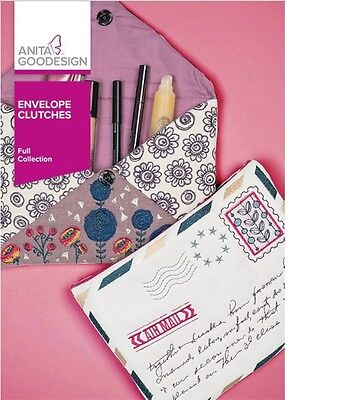 Anita Goodesign ENVELOPE CLUTCHES Full Fashion Collection 371AGHD -NEW SEALED