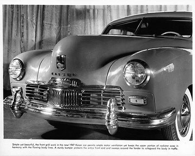 1947 Kaiser Frazer Factory Photo ad6580