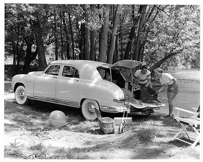 1949 Kaiser Frazer Vagabond Factory Photo ad6625