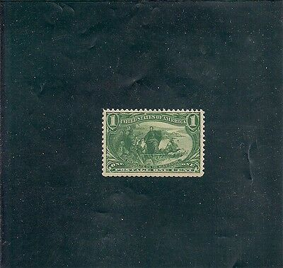 U.S. 285. $.01. Trans Mississippi. Mint. Never Hinged. Very Nicely Centered.