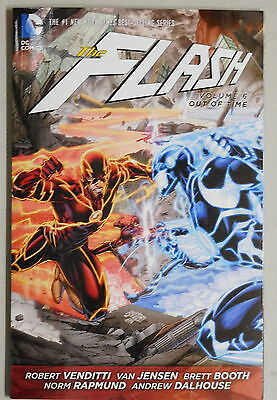 The Flash volume 6 Out Of Time trade paperback DC New 52 Venditti Jensen