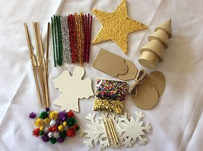 Kids Christmas Craft Pack - CLEARANCE ITEM