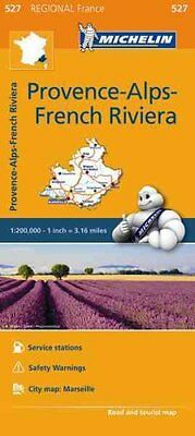 Provence French Riviera Map 527 Michelin Regional Maps: France 9782067209435