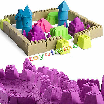 50g Kinetic Magic Motion Colorful Sand Kid Child DIY Indoor Play Craft Non Toxic