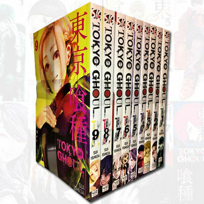 Tokyo Ghoul Volume 1-9 Collection 9 Books Set Sui Ishida Pack Children Manga NEW