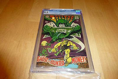 The Spectre 7 CGC 9.2 (1968, DC Comics) WHITE Pages