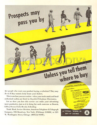 VTG Business Client Customer PROSPECT Sales Salesman Business Yellow Pages Ad