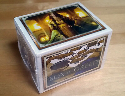 L5R ccg Legend Five rings - Emperor Edition sealed Box of Greed promo - 56 rares