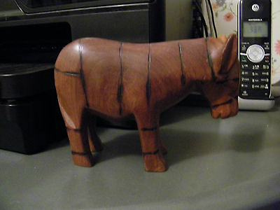 folk art wood donkey mule jackass - Democratic symbol - Hand carved