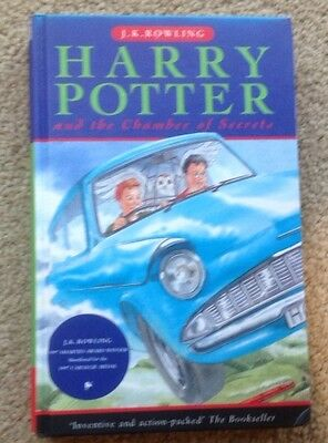 Harry Potter and the Chamber of Secrets by J. K. Rowling! Hardcover! D/J! Good!