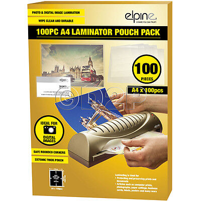 A4 Laminating Pouches Pack Of 100 Image Last Micron Lamination Pouch Sheets B