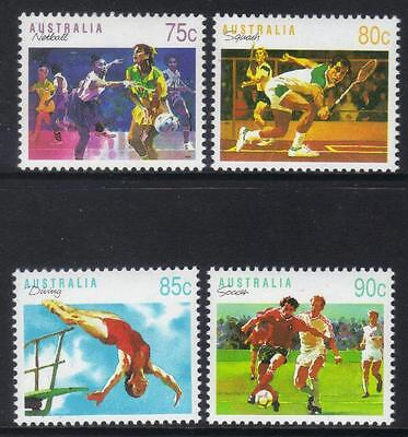 AUSTRALIA 1991 SPORTS (3rd SERIES) U/M SET OF 4