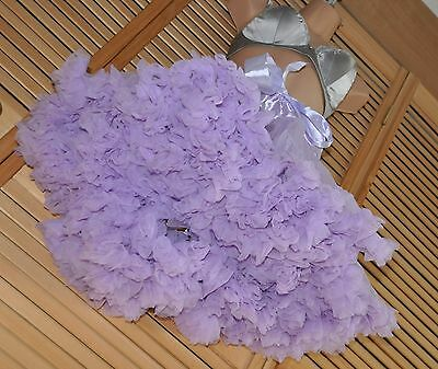 PP30 - Fluffy feminine flouncy French Maid petticoat, BN, adult, triple layered