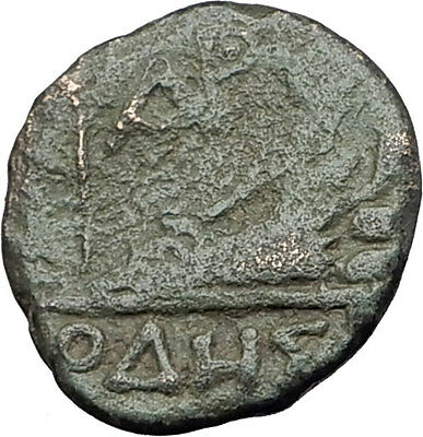 ODESSOS in THRACE 200BC Authentic Ancient Greek Coin APOLLO GREAT GOD i61321