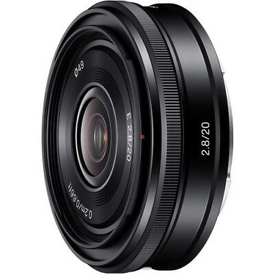 Sony E Mount 20mm f2.8 Lens for NEX