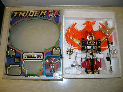 "VINTAGE - TRIDER G7 Transformer ROBOT "" EAGLE "" - in BOX - 70er/80er Jahre"