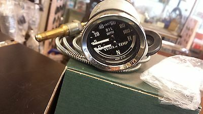 Bha4900  Smiths Dual Oil Pressure / Water Temperature C N H For Mg Mini Triumph