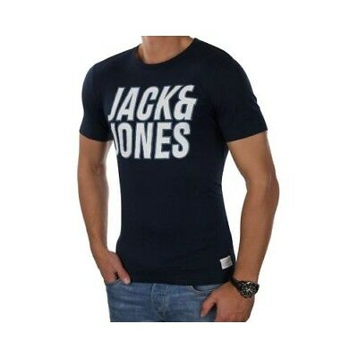 JACK & JONES Herren T-Shirt jcoTALENT Tee Print Crew Neck Rundhals Slim Fit 2843