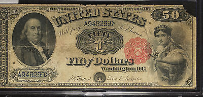 Series of 1880 $50 United States Legal Tender Note!