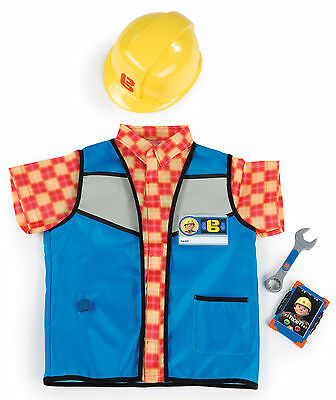 380300 Bob the Builder Dressing Up Safety Set inc 5 Pieces Boys Toy Children 3+