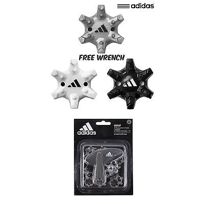 Adidas Golf 2017 Thintech® Exp Cleat 20 Pins Pack Golf Shoe Spikes + Free Wrench
