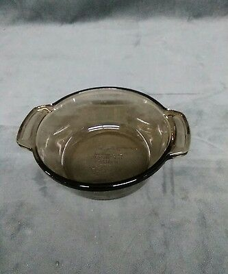 L'OVENWARE BROWN .  20 OZ #1036 CASSEROLE ,baking dish oven & microwave safe