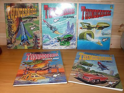 Gerry Anderson Thunderbirds Comic Albums