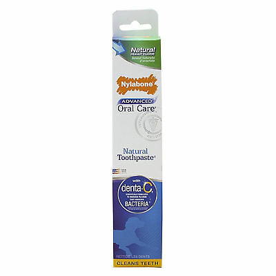 Nylabone Advanced Oral Care Natural Peanut Butter Flavor Pet Teeth Toothpaste