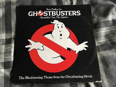 "Ghostbusters 12"" Vinyl Ray Parker Jnr"