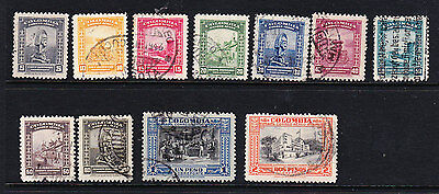 Colombia - 1941 Airmails SG 568/77 _ Used