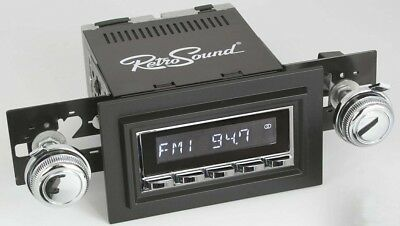 RetroSound Laguna Chrome Radio 78-83 Wagoneer Aux In